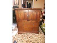 Vintage 1930s 'Tallboy' chest/dresser/drawers