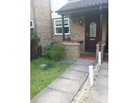 One bedroom house with garden in Yeading to let