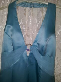 MR.K DRESS LOVELY BLUE NEW SIZE 12 Campbelltown Campbelltown Area Preview