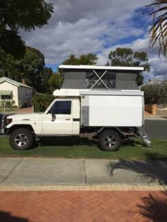 Luxurious Fibreglass Slide-on Pop-Top Camper For Tray Back Utes Maddington Gosnells Area Preview