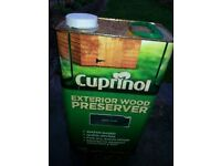 Cuprinol Exterior Wood Preserver - Chestnut 5L £21.50