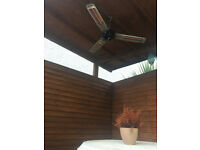 Powerfull garden/patio heater eletric