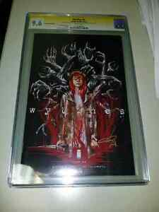 Wytches #1 NYCC Variant CGC Graded 9.6