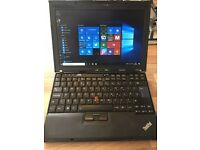 Lenovo X200, intel Centrino Dual Core, 4GB RAM, 200GB Hard Drive, Wireless, Webcam, Ethernet, 3 USB.