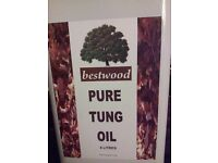 Tung Oil - 5 litre Tins