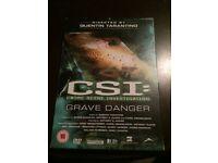 CSI: Crime Scene Investigation Grave Danger DVD Good Condition