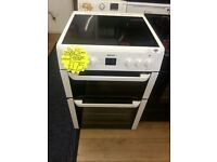 BECO 60CM WIDE DOUBLE OVEN ELECTRIC COOKER