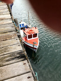 26 foot yorkshire coble boat