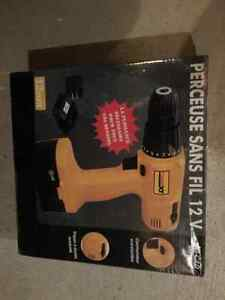 re-chargeable 12V cordless  drill