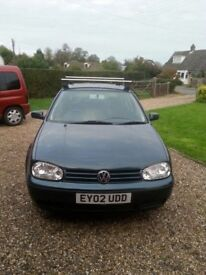 2002 vw golf. 1.6 16v £800 no silly others as NO often offends.