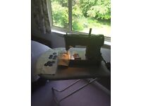 singer sewing machine 328K with cams
