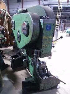 55 ton Mubea Mechanical Ironworker, Angle, 4 x 4 x 1/2 capacity, notching, coping, solids, flat bar, plate shear