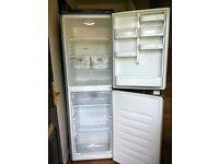 BEKO Frost free silver fridge freezer.