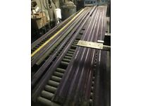 Assortment of Roller Shutter Slats / Galvinised Steel Solid lath