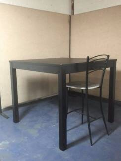 IKEA Tall Kitchen Chocolate Brown Dining Table DELIVER A/V SYDNEY Girraween Parramatta Area Preview