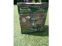 Watervilee outdoor movement sensor lamp (x2)