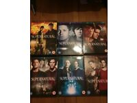Supernatural DVDs Seasons 1-6 Decent Condition