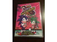 Sonic Underground DVD 10 Episodes Still Sealed Perfect Condition