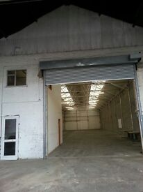 Warehouses and units to let from 2500 square feet to 13000 square feet