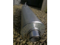 Fireblade Exhaust Silencer - Original Honda Part