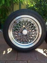 ROTA OS Mesh 15x7 +30 4x100 rim and tyre Cloverdale Belmont Area Preview