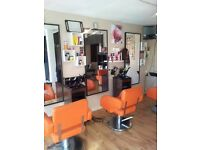 3 Used Salon chairs and 4 salon mirrors for sale £100