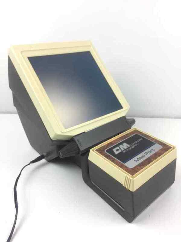 Vintage Portable Microfiche Machine