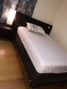 Modern ,stunning solid double bed set Box Hill Whitehorse Area Preview