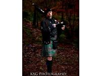 The Glastonbury Piper, Wedding Piper Somerset, Funeral Piper Somerset