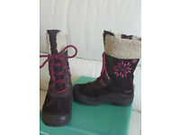 Girls Clarks Winter boots size 10G, as new