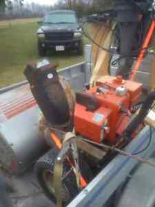 """Very solid snowblower, 32"""" 10HP dual stage. Handyman special"""