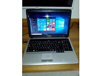 Samsung RV510 15.6-inch Laptop. 4GB RAM, 500 GB HDD, WLAN, Webcam. Win.10. Lanark.