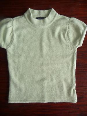 The Childrens Place pale green short sleeve top sweater S 5-6