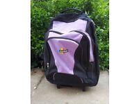 Light KArabar wheeled Backpack/travel bag with rain cover- Cabin size- Multipockets