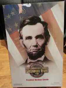 "Sideshow Military Civil war Abraham Lincoln 12""figure General"