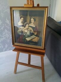 The Musicians By: Master of the Female Half Lengths framed with ART STAND