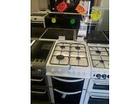 LOGIK BRAND NEW 50CM WIDE DOUBLE OVEN GAS COOKER