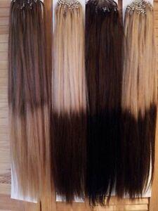 Micro Loops Hair Extensions Ebay 110