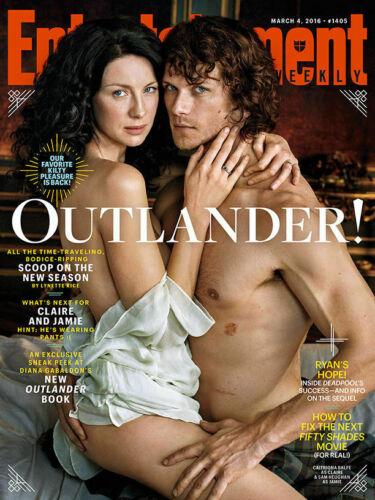 Jamie & Claire PDF digital scan Outlander Entertainment Weekly Caitriona Sam1405