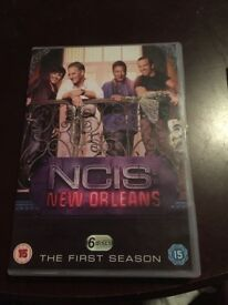 NCIS New Orleans Season 1 Unwatched Good Condition