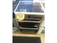 BEKO 60CM WIDE DOUBLE OVEN ELECTRIC COOKER