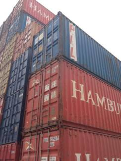 40FT & 20FT SHIPPING CONTAINERS - FOR SALE - ADELAIDE Adelaide CBD Adelaide City Preview
