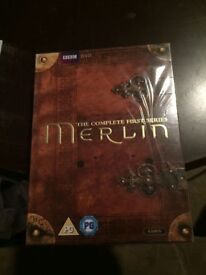 BBC Merlin Season 1 Still Sealed Unwatched Perfect Condition