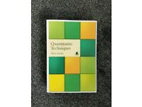 Quantitative Techniques by Terry Lucy (Paperback, 2002)