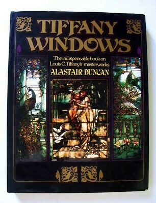 Tiffany Windows, Indispensable Book Louis C. Tiffany's Masterworks, 1980 1st Ed.