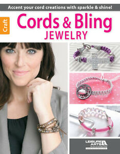 CORDS-BLING-JEWELRY-Beads-Beaded-Macrame-Braiding-Knots-Paracord-Craft-Idea-Book