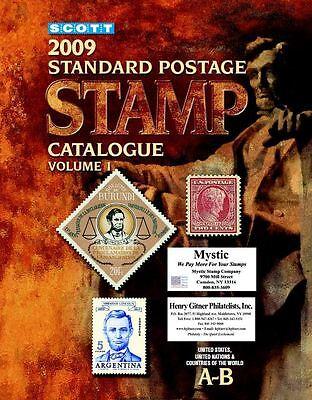 Scott Stamp Catalog 2009 6 Volume Complete set (6 eBOOKS)