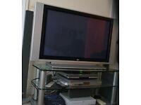 "LG 42"" WIDESCREEN PLASMA TV + STAND"
