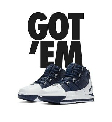 "8899d917e422c Pre-Order Nike Zoom Lebron 3 IIIMidnight Navy"" Blue Sz 9 New This Is A  Preorder"