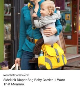 Diaper bag/carrier Combo